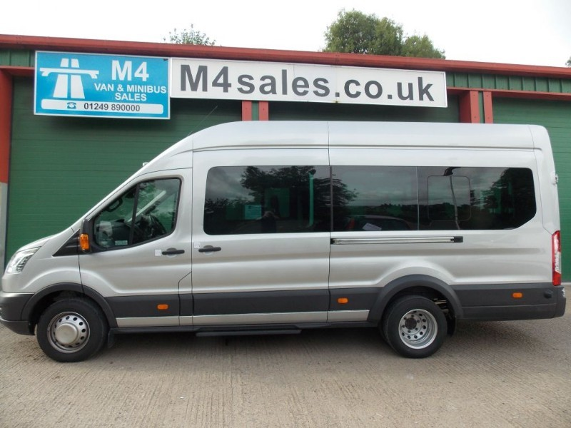 used Ford Transit 125ps,17st trend minibus,new psv. in wiltshire