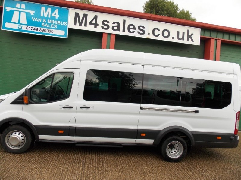 used Ford Transit 17st trend minibus,full a/c, in wiltshire