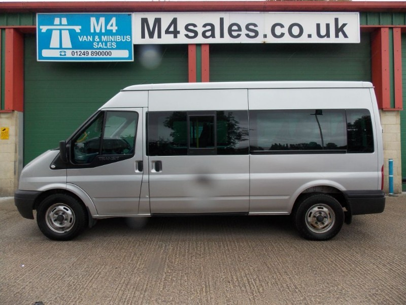 used Ford Transit 135ps,14 seat minibus,fully airconditioned in wiltshire