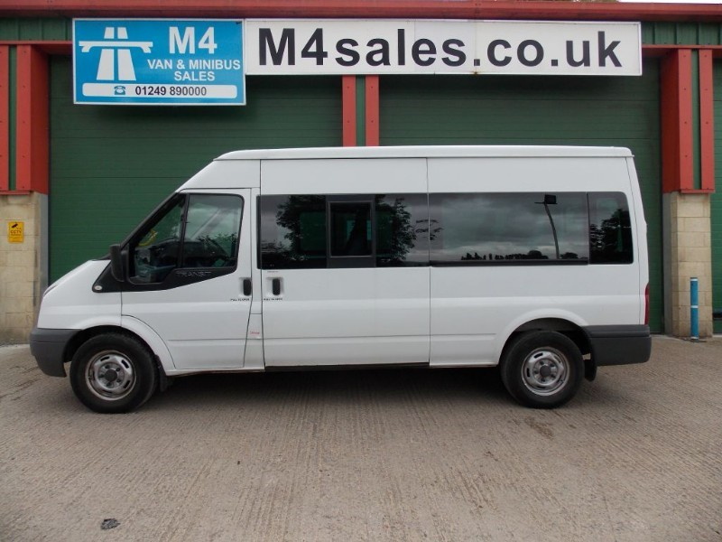 used Ford Transit 115ps,15 seat minibus,fsh,tacho. in wiltshire