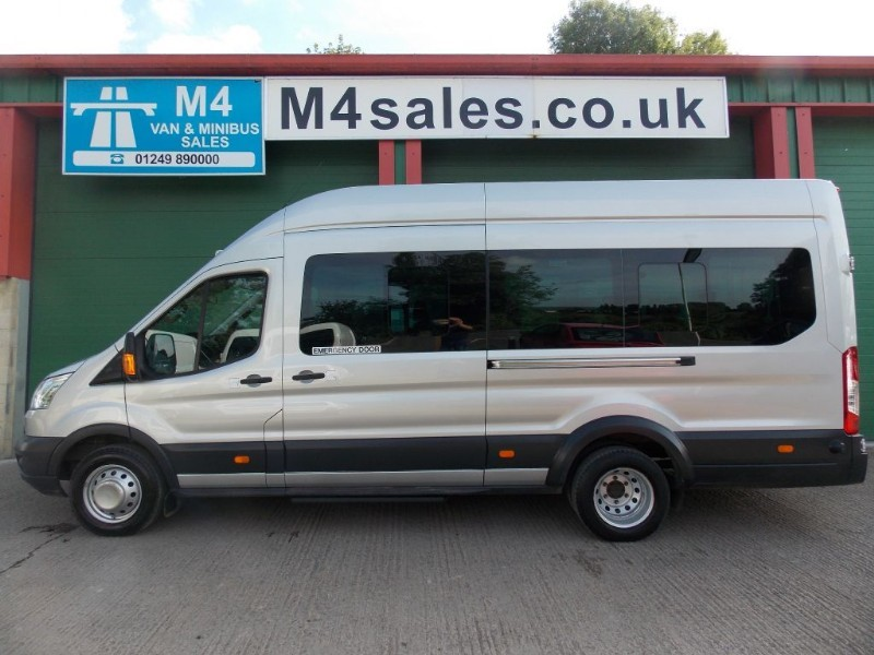 used Ford Transit 125ps, 17st Trend minibus,Full A/con in wiltshire
