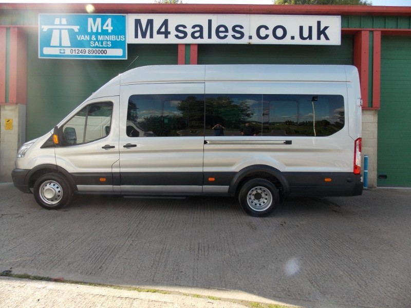 used Ford Transit 125ps,17st trend minibus,Full A/con in wiltshire