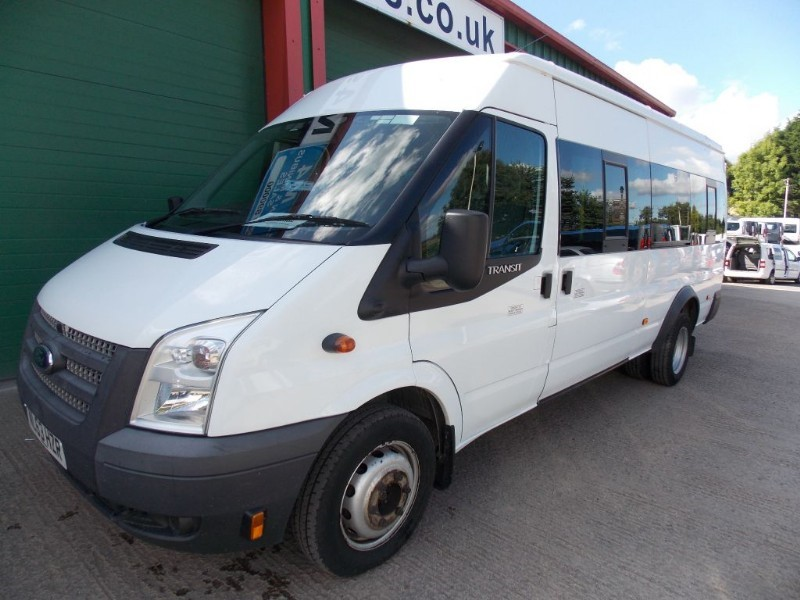used Ford Transit 430 17 Seat Euro 5 PSV Tested in wiltshire