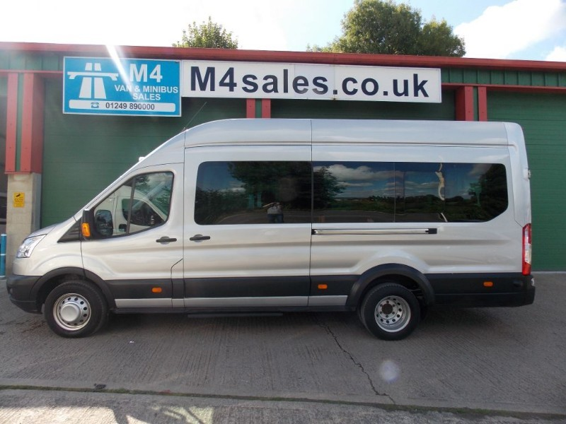 used Ford Transit 17st trend model minibus,full a/c,tacho in wiltshire