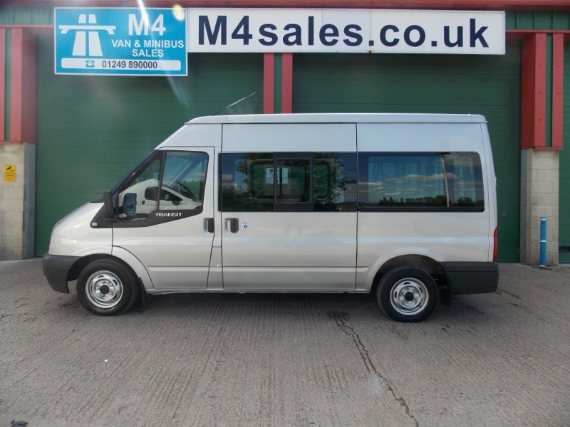 used Ford Transit 9 seat shuttle minibus, trend model in wiltshire