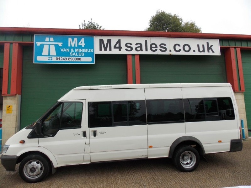used Ford Transit 17 seat,3.5ton minibus, tacho in wiltshire