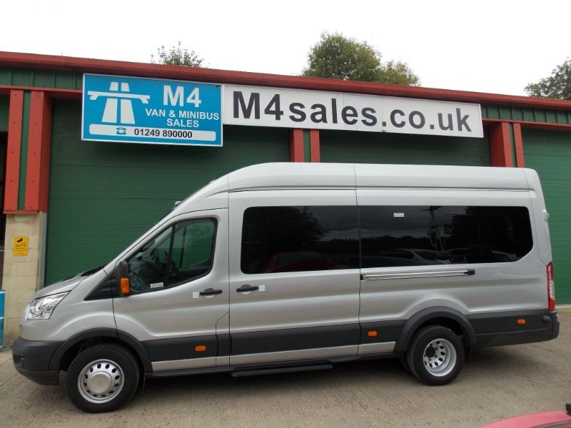 used Ford Transit 125ps,17 seat Trend minibus,full a/c,tacho in wiltshire