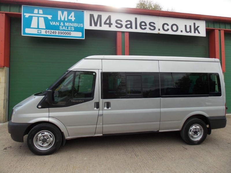 used Ford Transit 135ps,14 seat minibus,A/c,fsh. in wiltshire