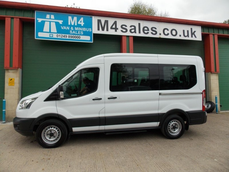 used Ford Transit 350 12 Seat 3.5T minibus Aircon in wiltshire