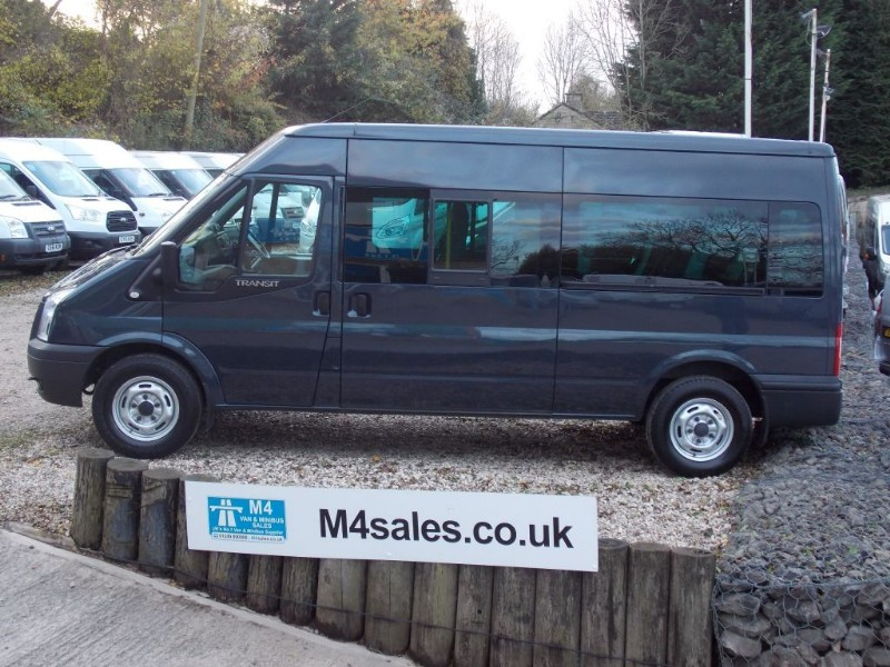 used Ford Transit 135ps,14 seat minibus,tacho,a/con in wiltshire
