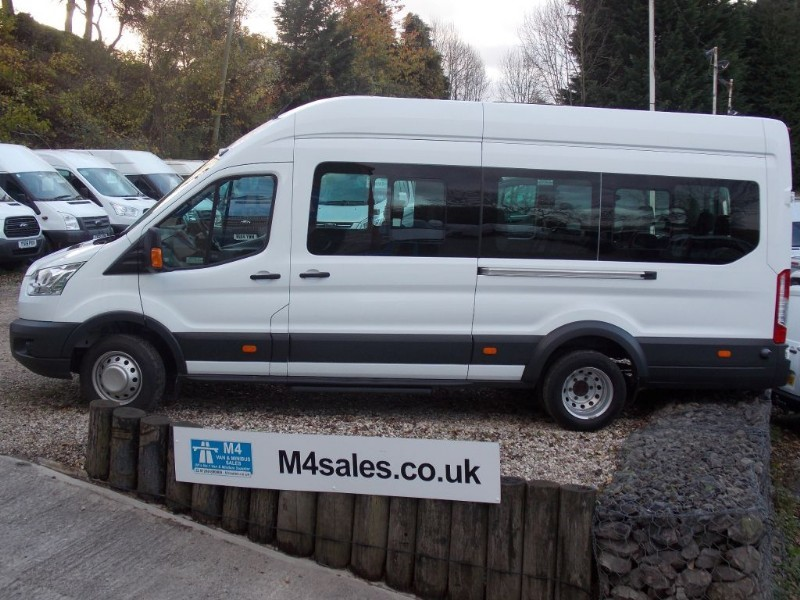 used Ford Transit 460 17 Seat Minibus A/C in wiltshire