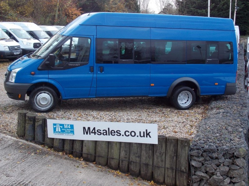 used Ford Transit 17 seat  high roof minibus in wiltshire