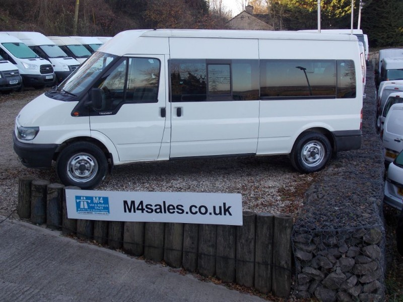 used Ford Transit 15st Minibus, Full a/c. **No Vat** in wiltshire