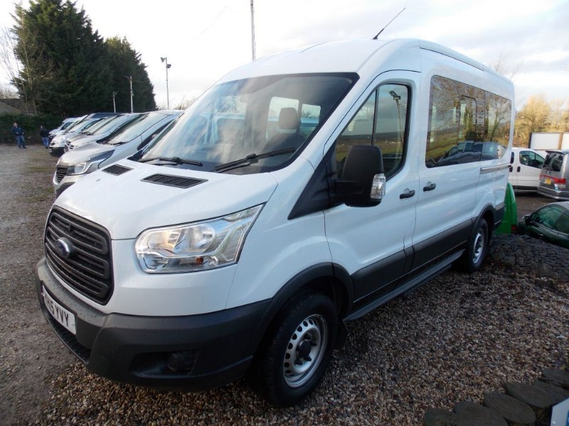 used Ford Transit 350 12 Seat 3.5T minibus in wiltshire