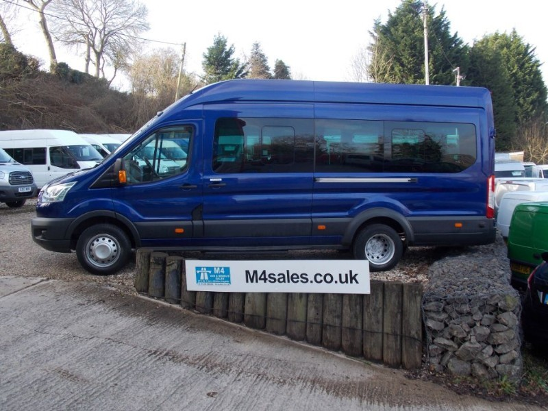used Ford Transit 155ps,17 seat trend minibus,Psv'd in wiltshire