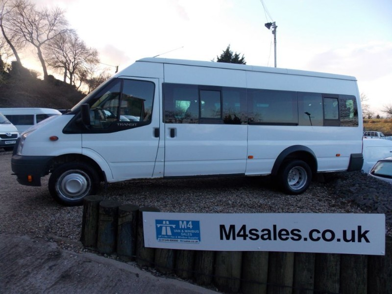 used Ford Transit 17st minibus in wiltshire