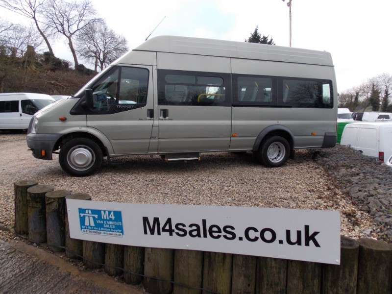 used Ford Transit 14st Minibus upto 5 w/chairs in wiltshire