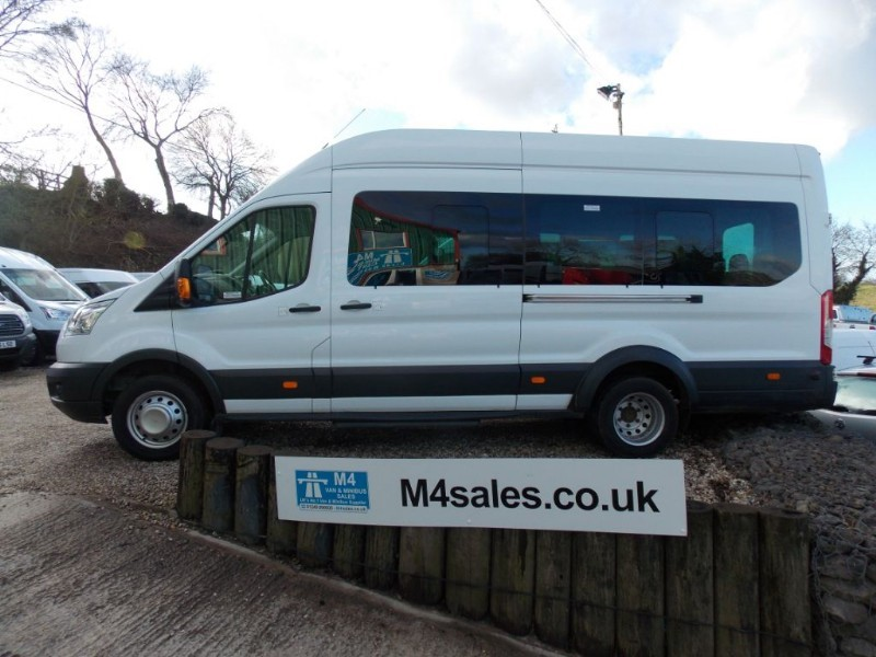 used Ford Transit 155ps,17st Trend model minibus in wiltshire