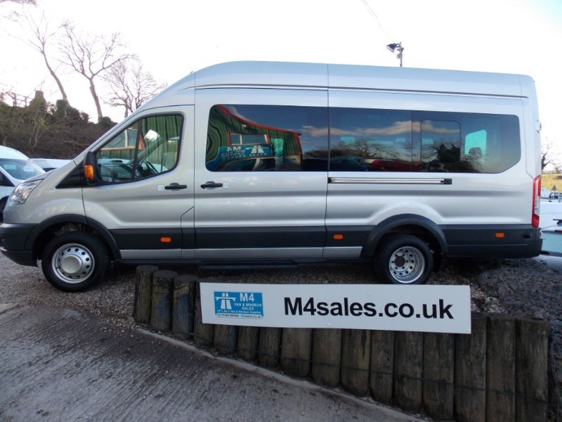 used Ford Transit 17 seat trend minibus, full a/c in wiltshire