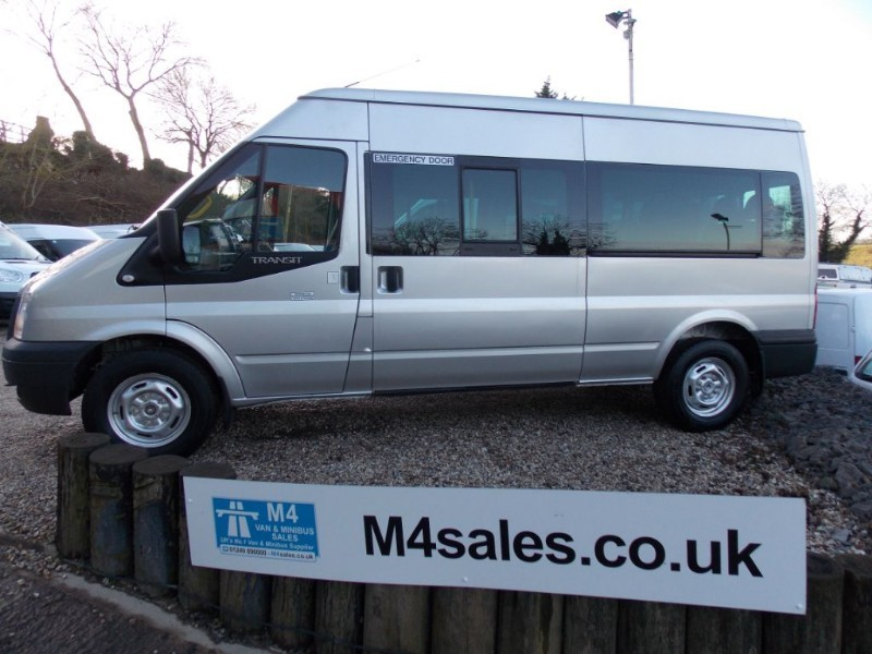 used Ford Transit 350 14 Seat Euro 5 3.5T in wiltshire