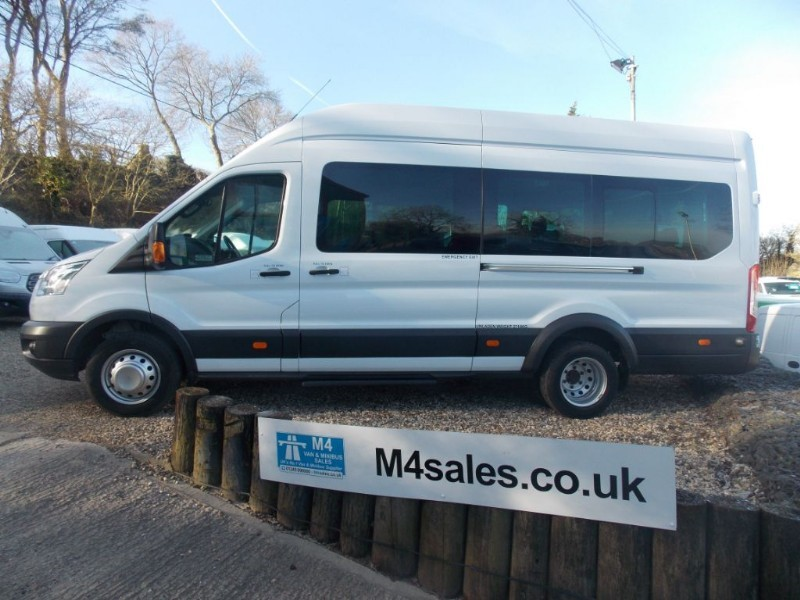 used Ford Transit 155ps,17 seat Trend,high spec in wiltshire