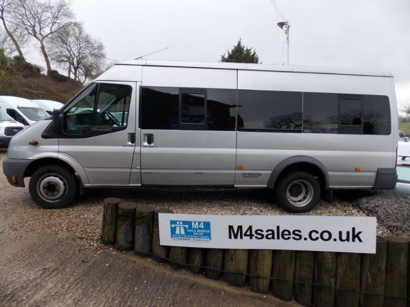 used Ford Transit 115ps,17 Seat Trend minibus,a/c & Psv in wiltshire
