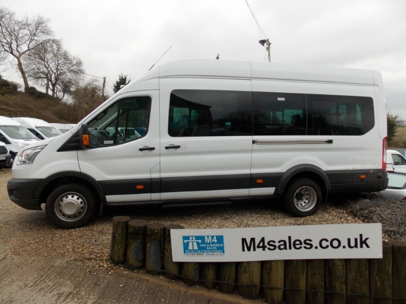 used Ford Transit 125ps,17 seat trend minibus,full a/c in wiltshire