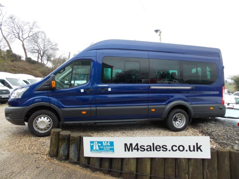 used Ford Transit 135ps,17 seat Trend model minibus,tacho in wiltshire
