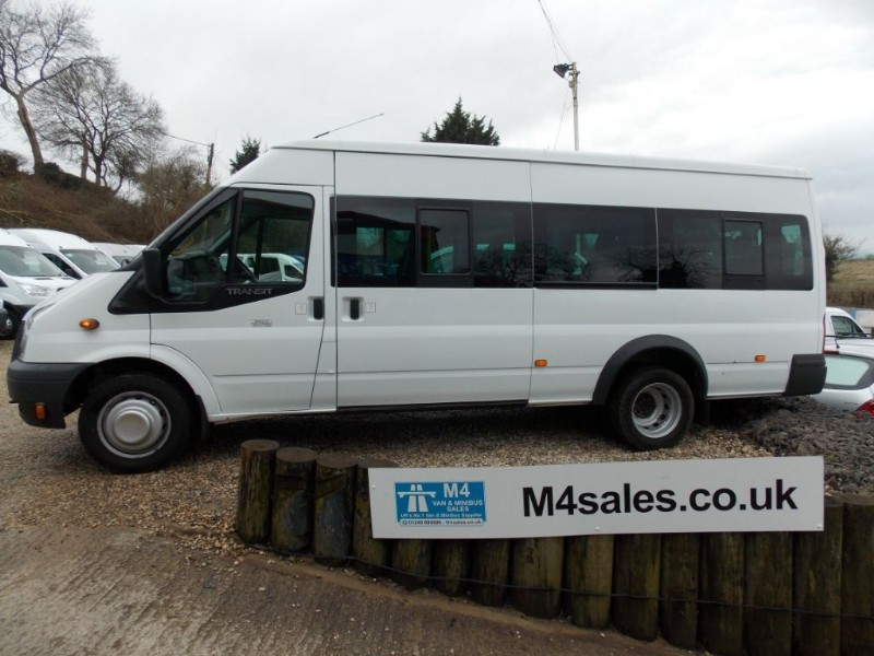 used Ford Transit 430 17 Seat 135ps Euro 5 Minibus, Tacho in wiltshire