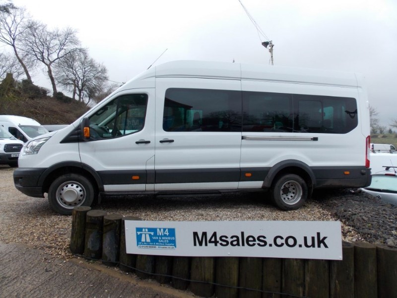 used Ford Transit 125ps,17 seat Trend minibus,tacho,a/c in wiltshire