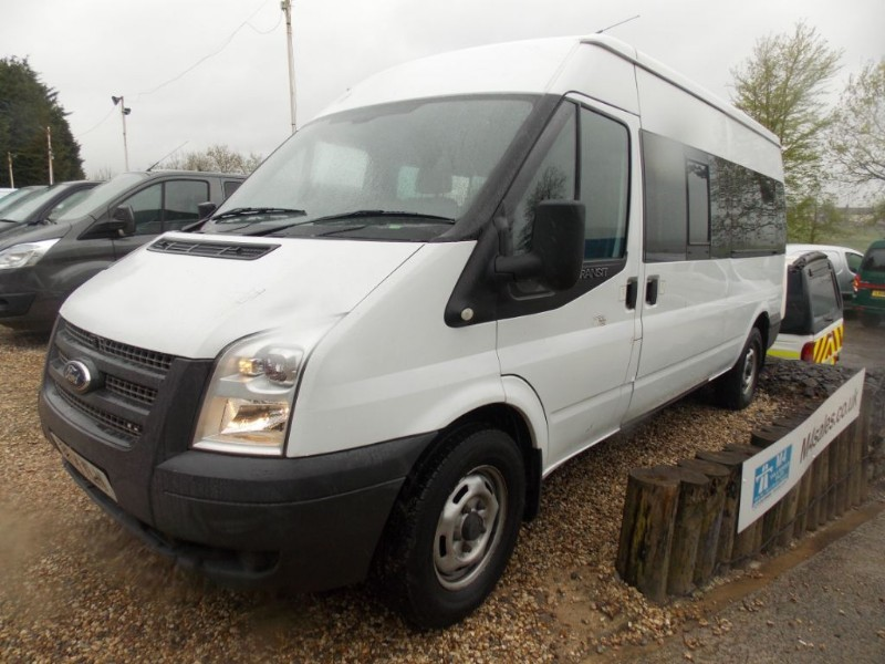 used Ford Transit 135ps,14seat minibus,tacho. in wiltshire