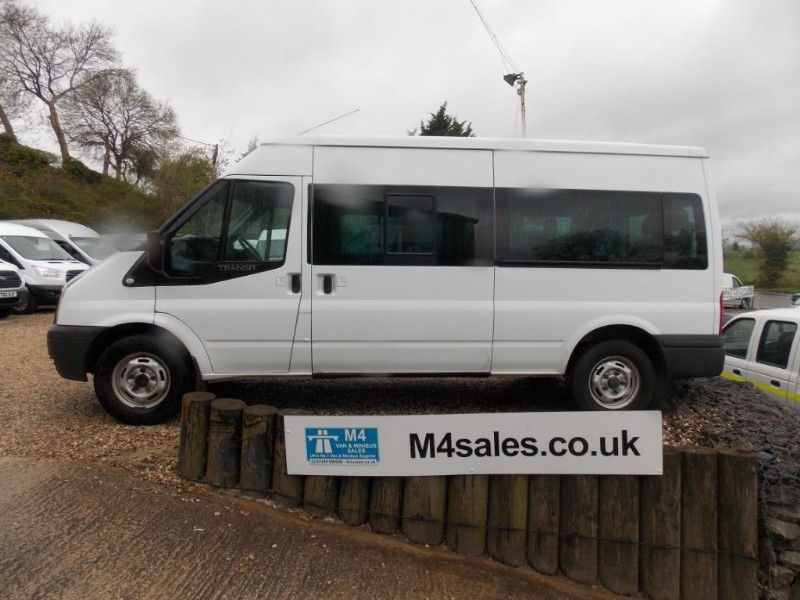 used Ford Transit 135ps,14 seat minibus,3.5t in wiltshire