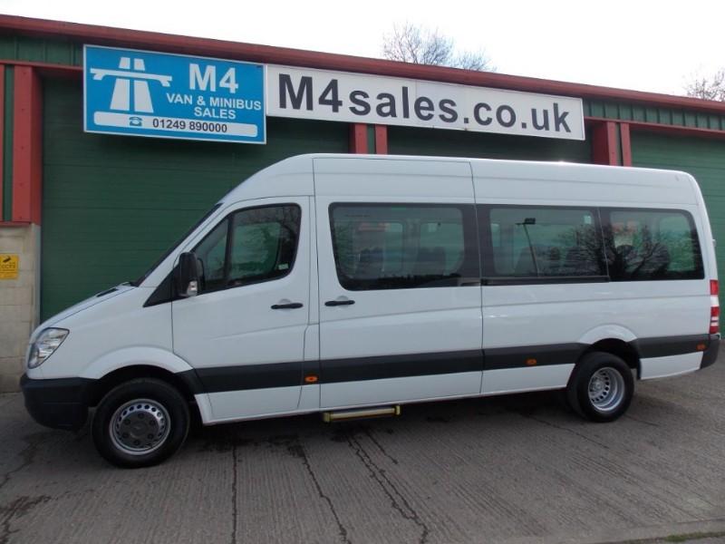used Mercedes Sprinter 513cdi,17st minibus,auto,psv. in wiltshire