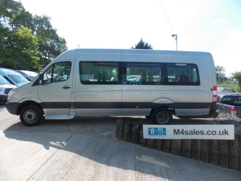 used Mercedes Sprinter 513cdi, 17seat w/chair minibus in wiltshire