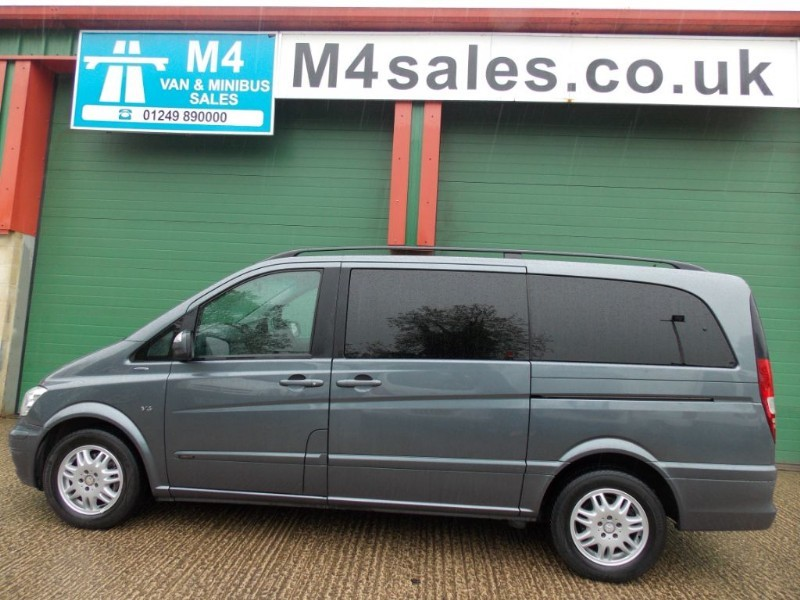 used Mercedes Viano 122cdi,8st lwb,ambiente, full leather. in wiltshire
