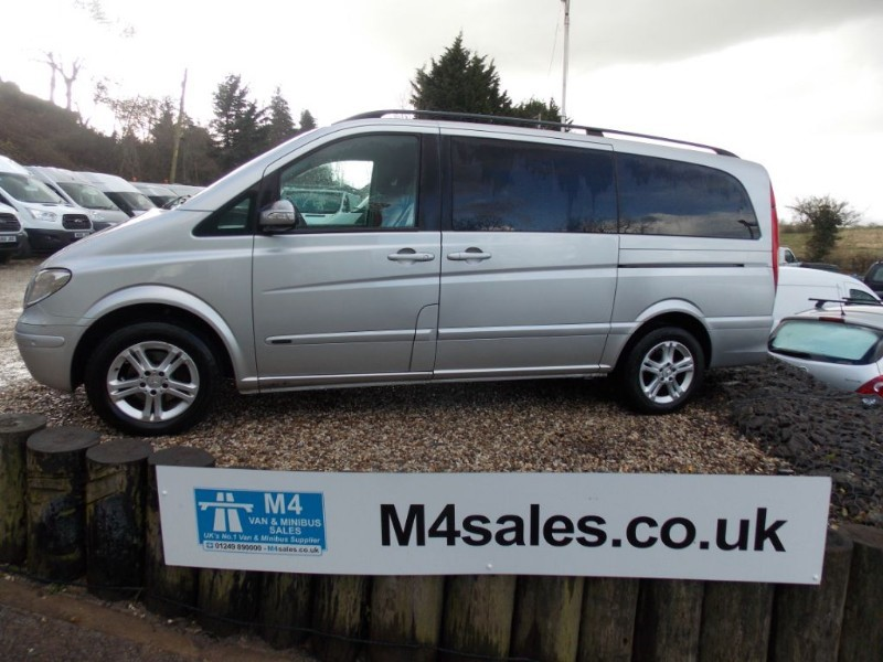 used Mercedes Viano 2.2cdi,7st lwb Ambiente in wiltshire