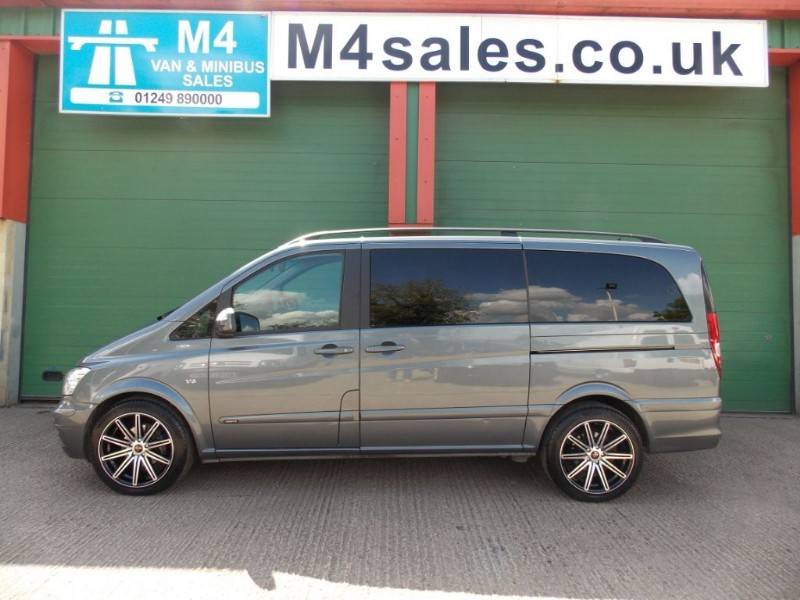 used Mercedes Viano 122 CDI V6 Lwb BLUEEFFICENCY AMBIENTE 8 Seater Leather Sat Nav in wiltshire