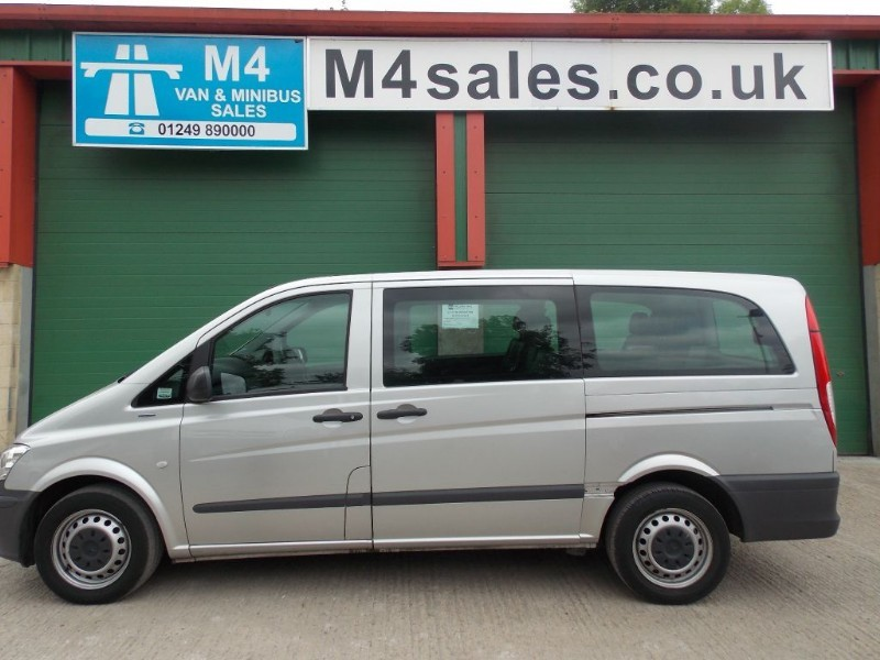 used Mercedes Vito 113cdi,9 seat lwb traveliner in wiltshire