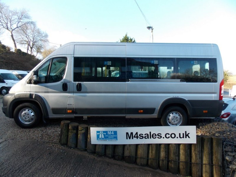 used Peugeot Boxer HDI 440 L4H2 16 Seater with Wheel Chair Access in wiltshire