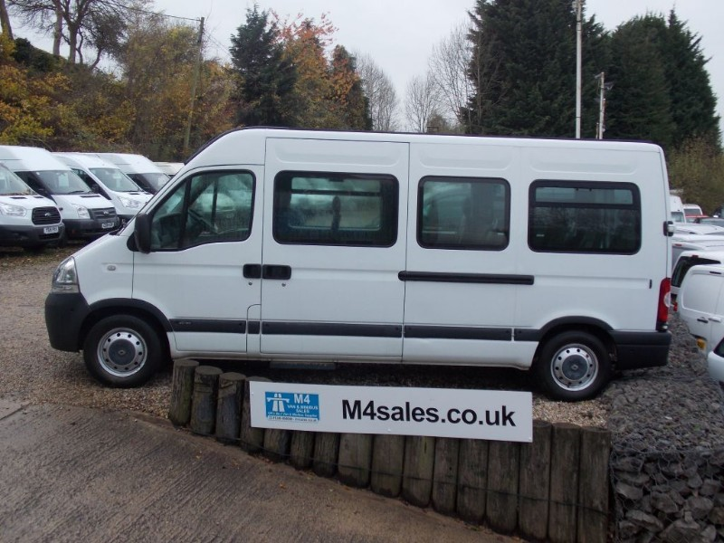 used Renault Master 120ps,16 seat minibus,full A/c.No Vat in wiltshire