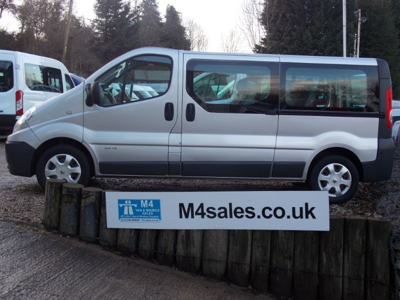 used Renault Trafic GF63ZXB in wiltshire