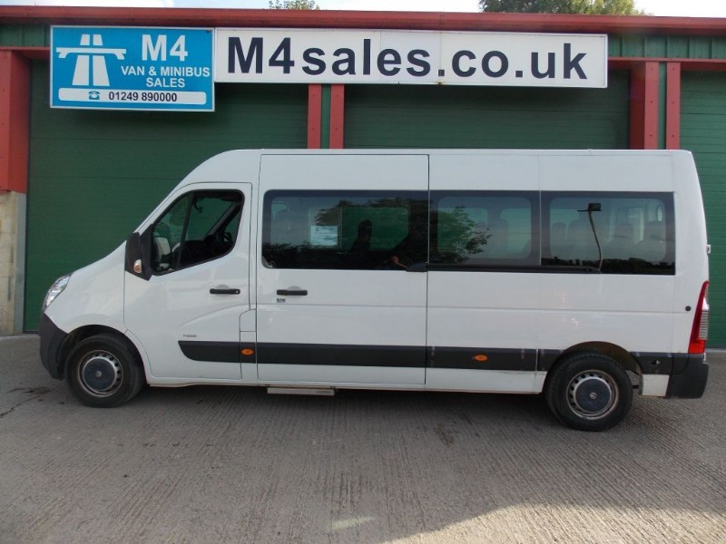 used Vauxhall Movano 125ps,17 seat minibus.**No Vat** in wiltshire