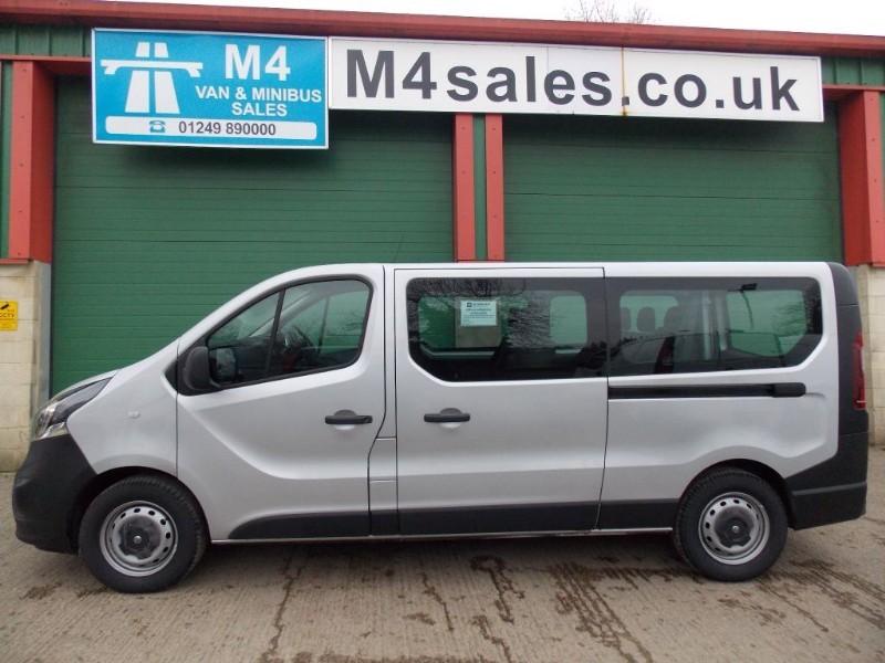 used Vauxhall Vivaro 115ps,9 seat lwb bi turbo minibus. in wiltshire