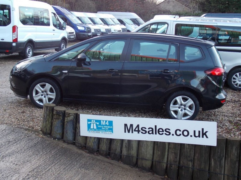 used Vauxhall Zafira Tourer EXCLUSIV CDTI in wiltshire