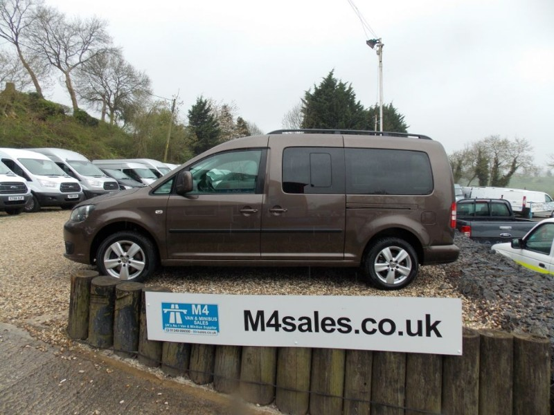 used VW Caddy Maxi C20 TDI 7 Seater in wiltshire