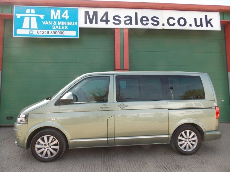 used VW Caravelle 180ps,7st dsg minibus. **No Vat** in wiltshire