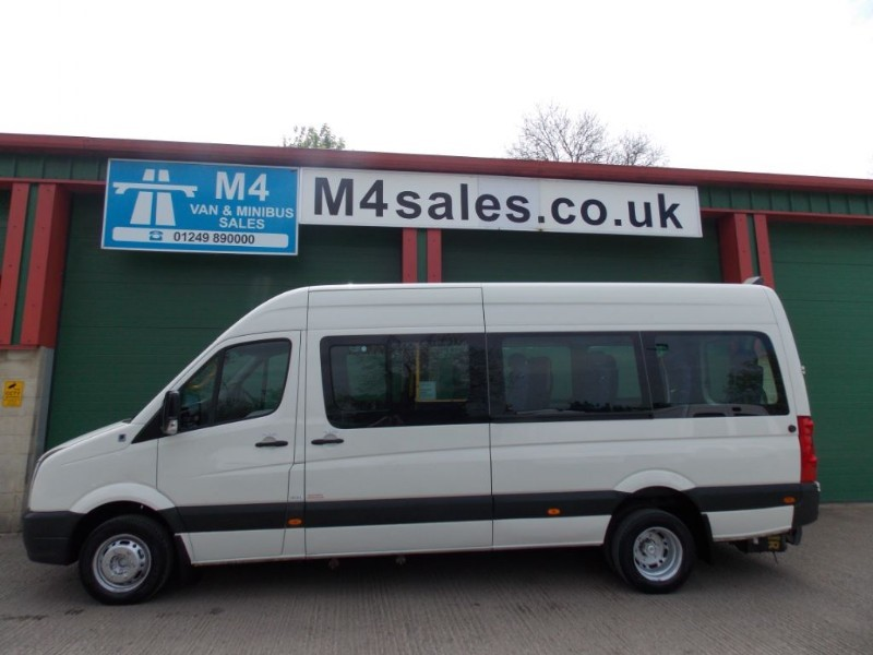 used VW Crafter 16st,w/chair minibus,tacho in wiltshire