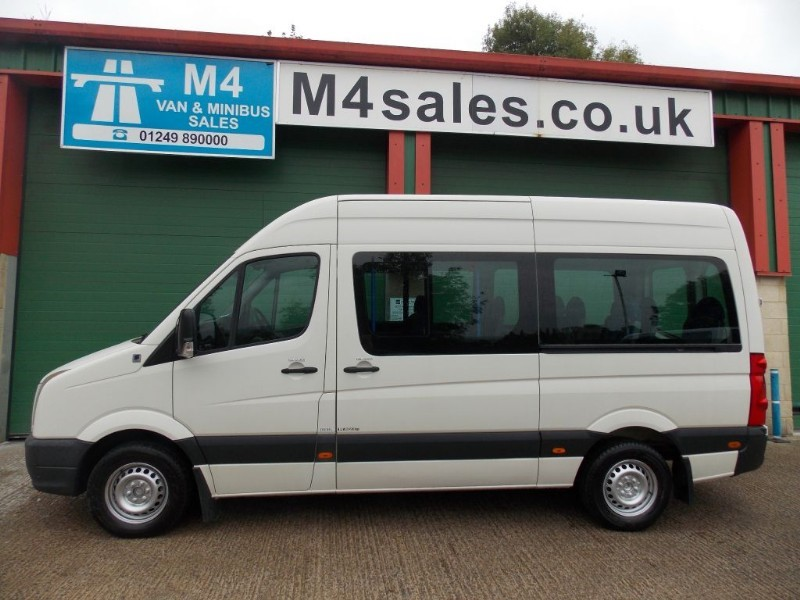 used VW Crafter 136ps,15 seat 3.5ton minibus in wiltshire