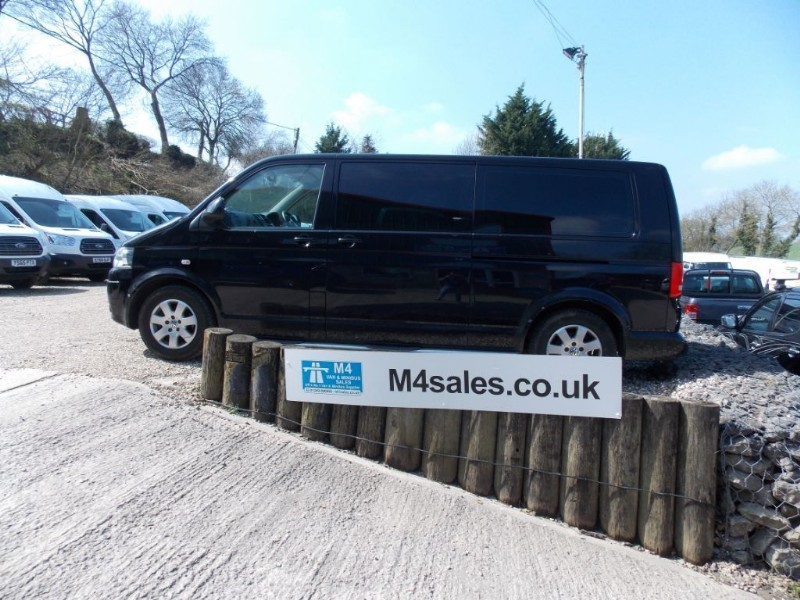 used VW Transporter 140ps,9 seat lwb Se.**No Vat** in wiltshire