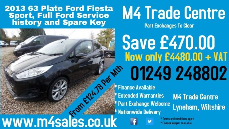 used Ford Fiesta SPORT TDCI in wiltshire